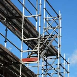 scaffolding, scaffold, building frame